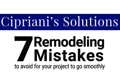 7 remodeling mistakes